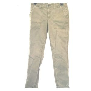 J. Crew Army Green Chinos